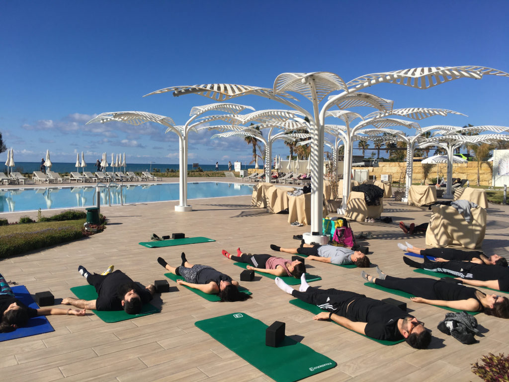 Private yoga class in Paphos