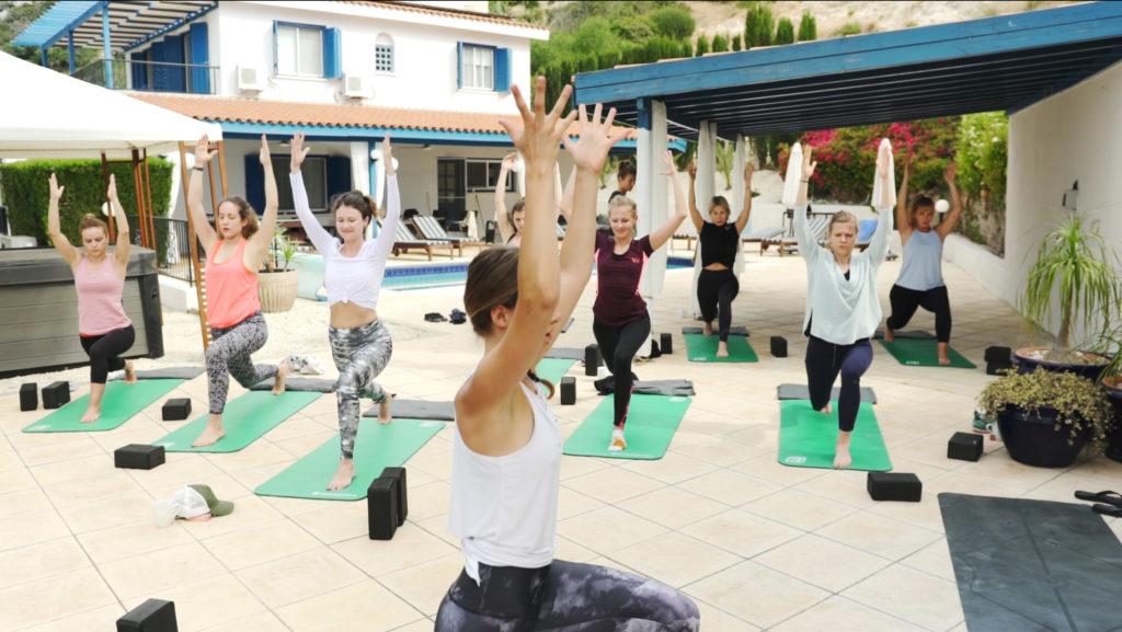 Yoga retreat in Cyprus