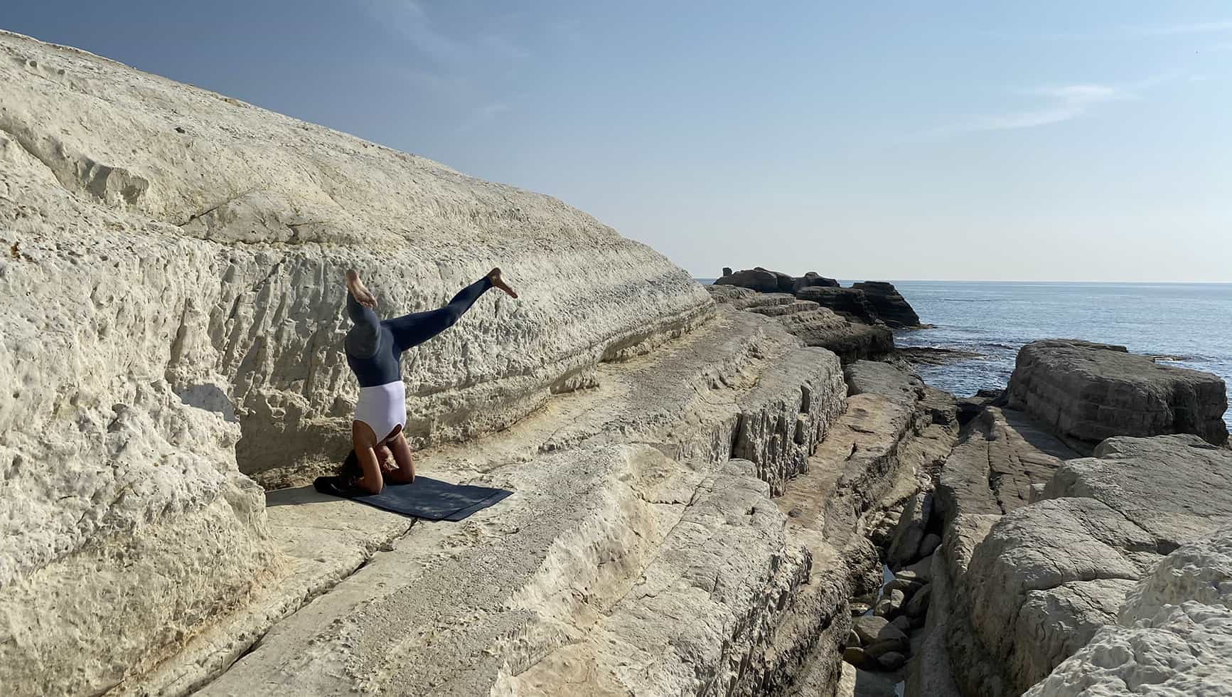Inverted Yoga Pose